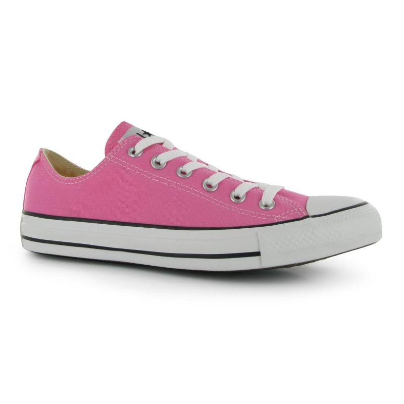 Boty Converse All Stars Ox Unisex Canvas Trainers Pink