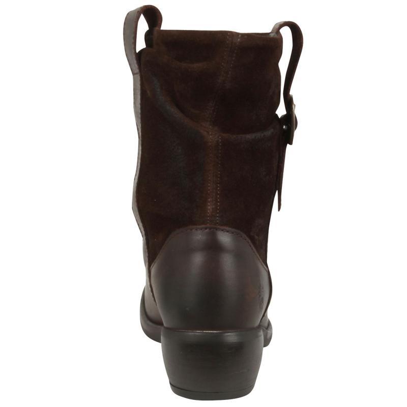 Boty Fly London Maha Boots Dark Brown