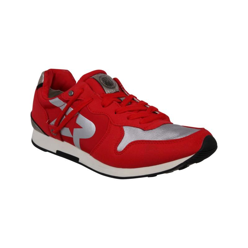 Boty Replay Parkrose Run Trainers Red/Silver