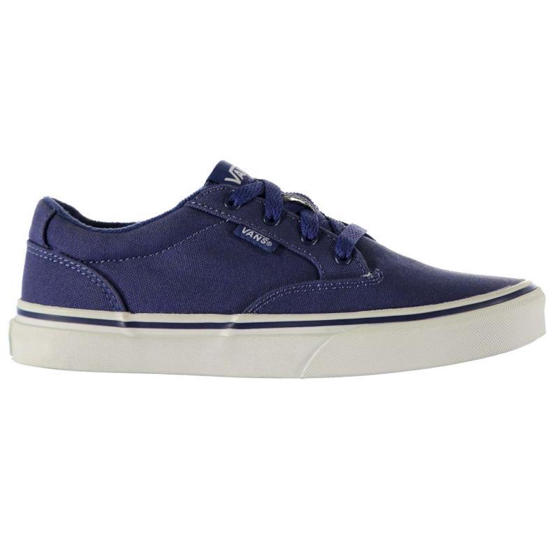 Boty Vans Winston Boys Skate Shoes Blue/White