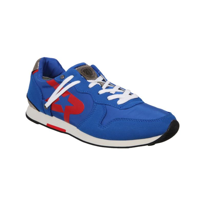 Boty Replay Parkrose Run Trainers Royal Blue/Red