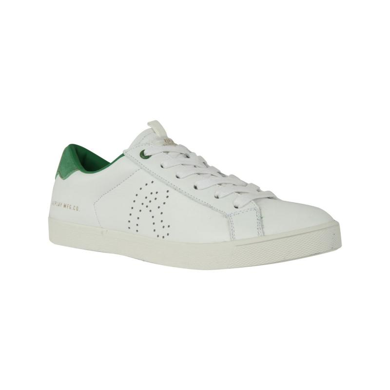 Boty Replay Mr Murray Mens Trainers White/Green