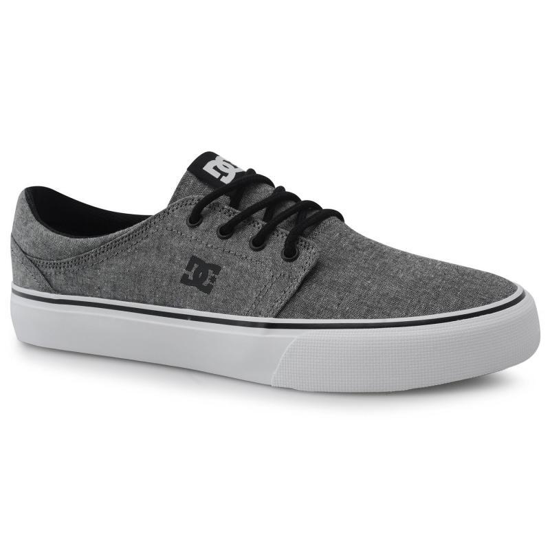 Boty DC Trase TX SE Mens Canvas Shoes Black