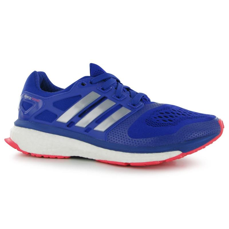 Boty adidas Energy Boost Ladies Running Shoes Blue/Silver/Red