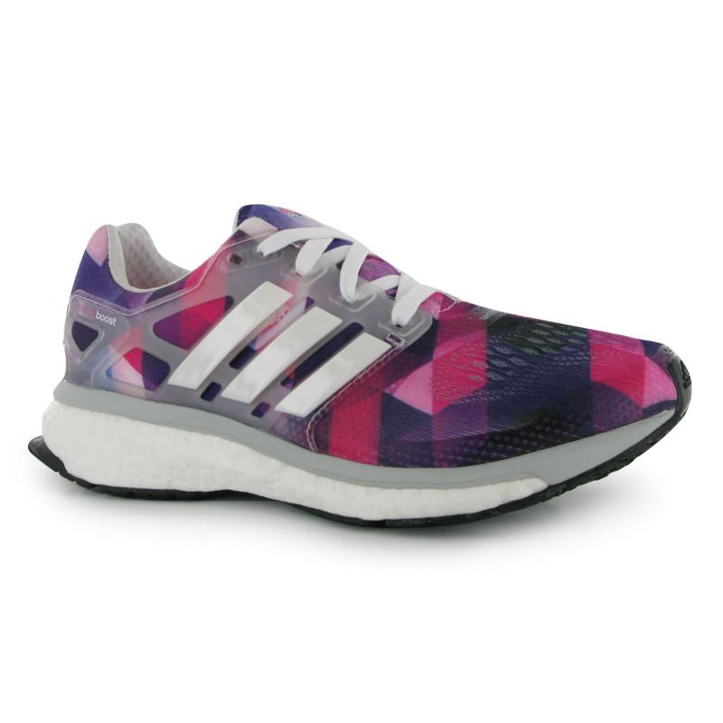 Boty adidas Energy Boost Ladies Running Shoes Pink/White