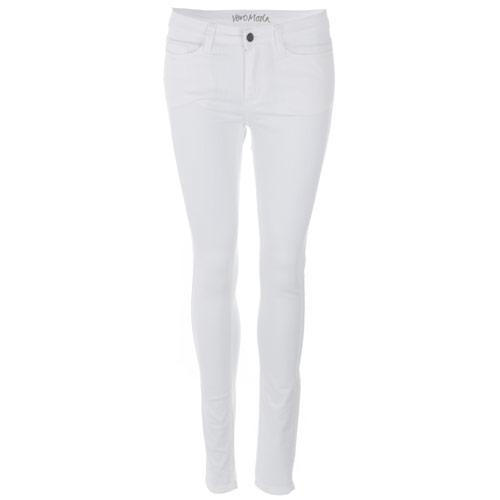 Vero Moda Womens Wonder New Skinny Jeggings White