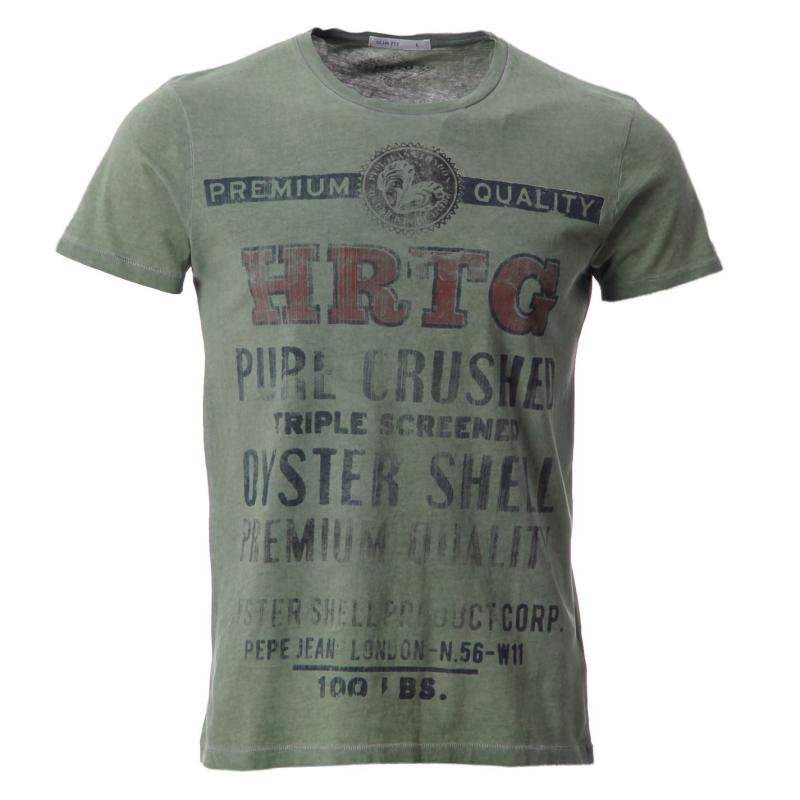 Tričko Pepe Jeans Gladst T Shirt Snr52 Olive