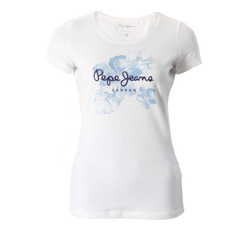 Pepe Jeans Leena T Shirt Lds52 White