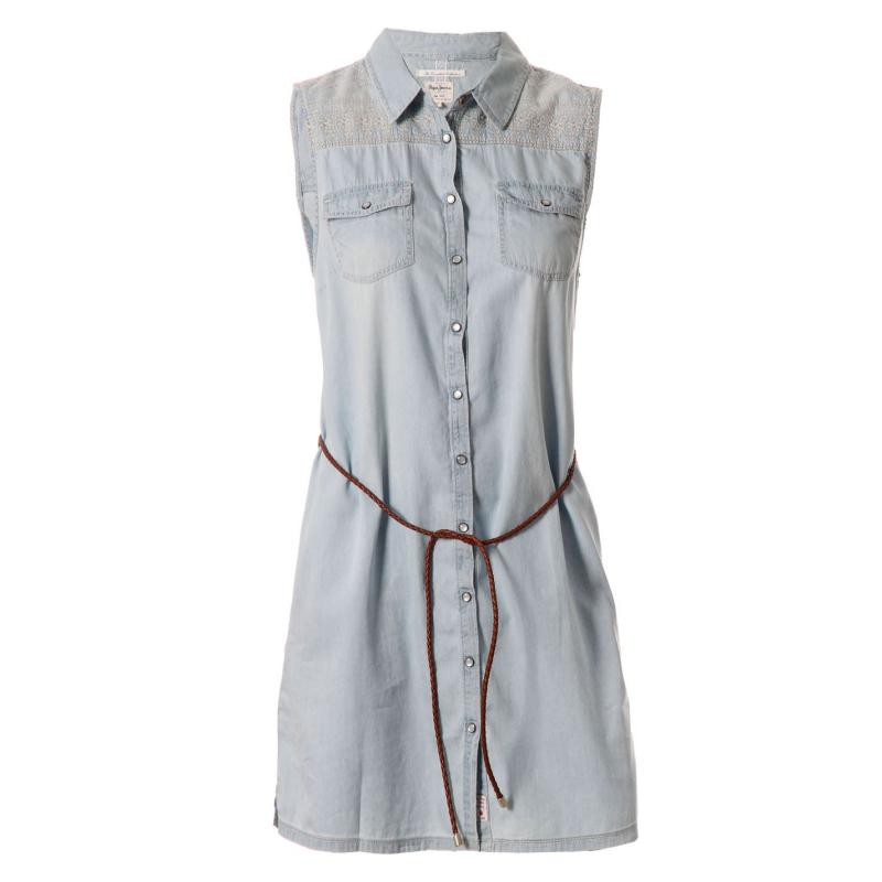 Šaty Pepe Jeans Lupita Dress Ladies Jeans