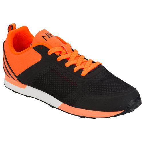 Boty Adidas Neo Mens Dash TM Trainers black orange