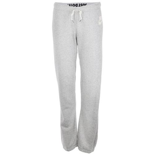 Fitness Nike Womens Rally Small Futura Pants Grey Marl