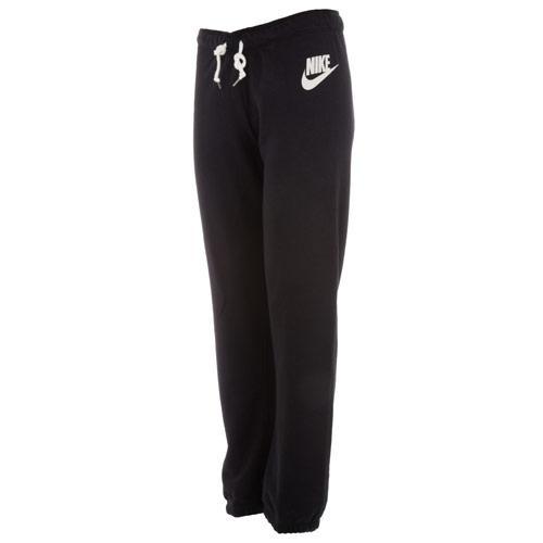 Fitness Nike Womens Rally Small Futura Pants Black