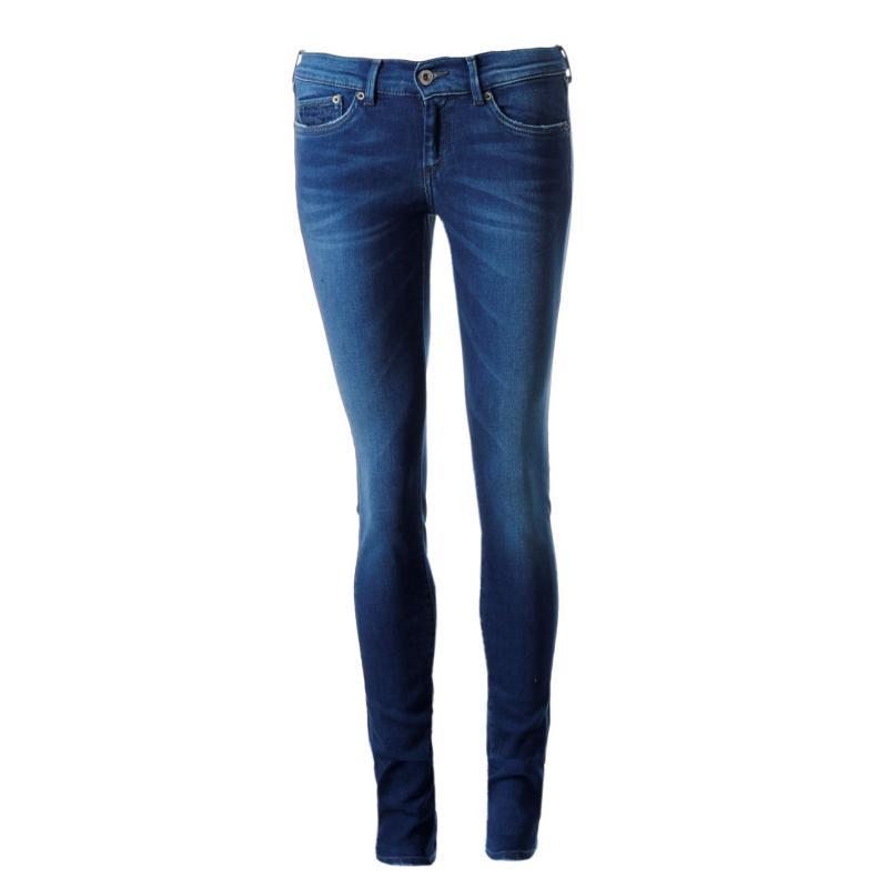 Pepe Jeans Pixie Skinny Jeans Ladies Indigo