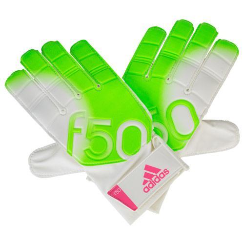 Adidas F50 Training Gloves White Green