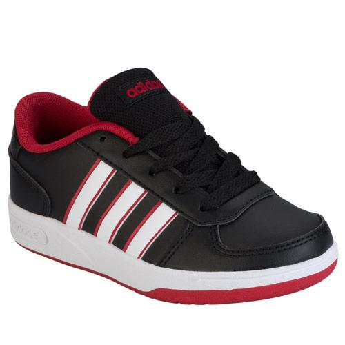Boty Adidas Neo Children Boys VL Stripe Trainers Black