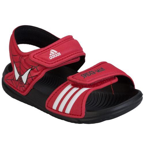 Boty Adidas Neo Infant Boys Disney Akwah Sandal Black Red