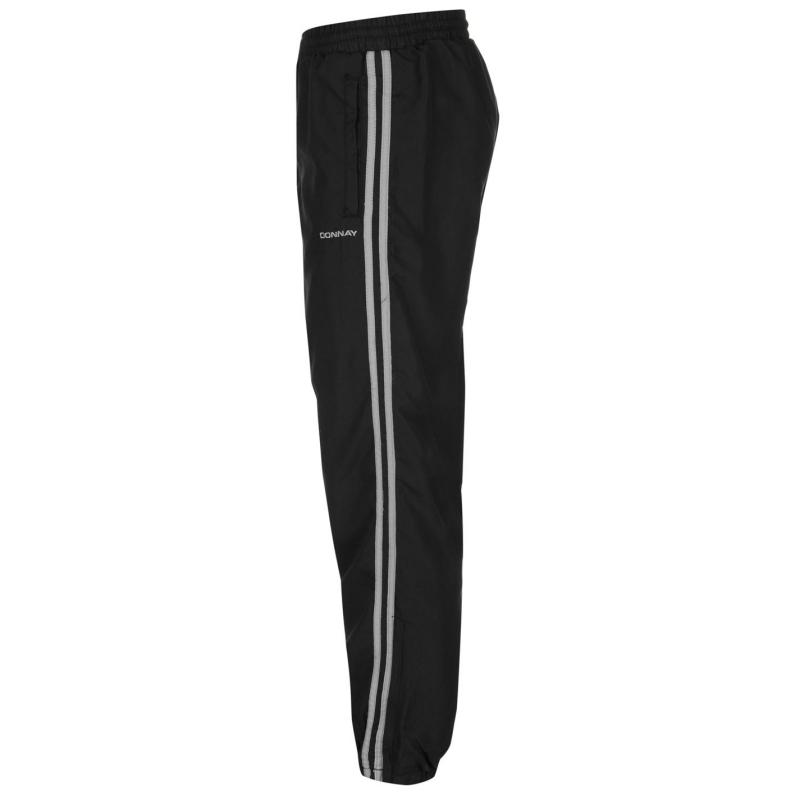 Tepláky Donnay Woven Pant Mens Black, Velikost: S