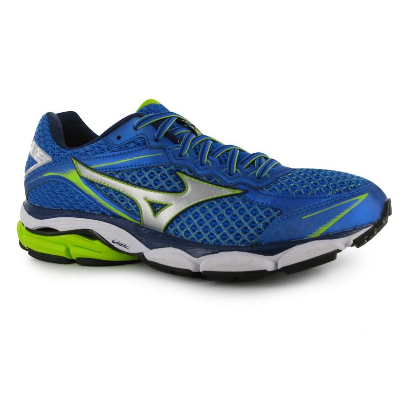 Mizuno Wave Ultima 7 Mens Running Shoes Blue/Yellow