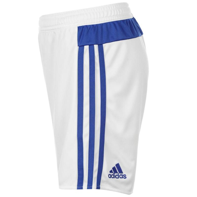 Tričko adidas Chelsea Away Shorts 2015 2016 Junior White/Blue