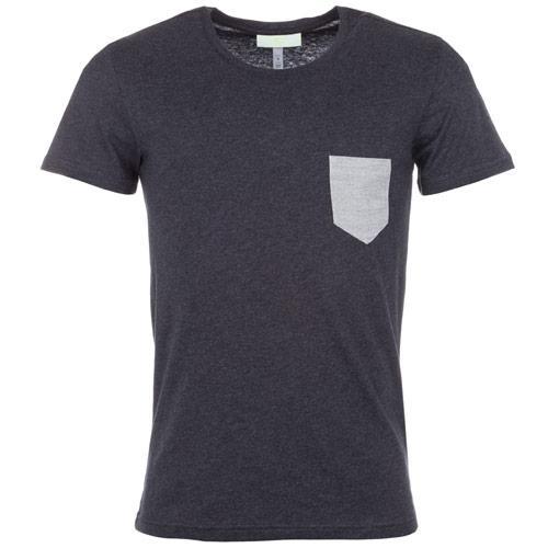 Tričko Adidas Mens Fashion Basic Pocket T-Shirt Black