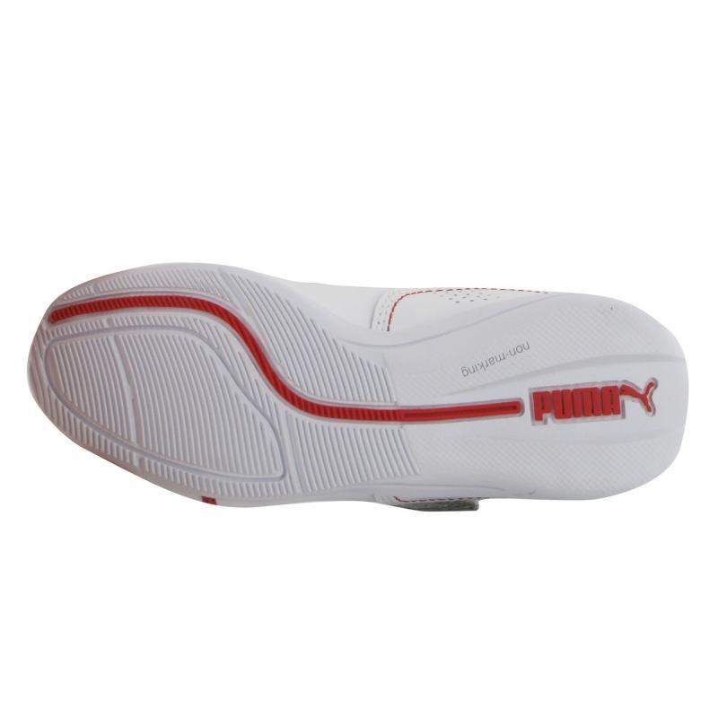 Boty Puma DCat Scuderia Ferrari Childrens Trainers White