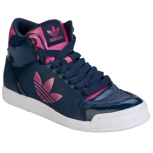 Boty Adidas Originals Womens Midiru Court 2.0 Trefoil Trainers Navy