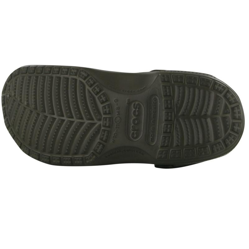 Crocs Beach Sandals Mens Chocolate