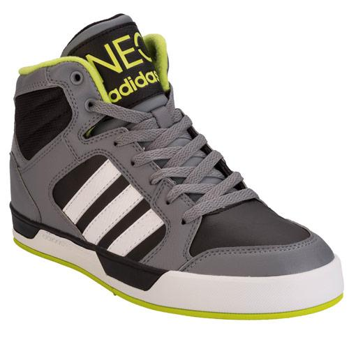 Boty Adidas Neo Mens BBNeo Raleigh Mid Top Trainers Black
