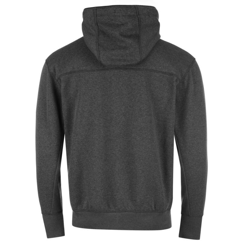 Mikina Everlast Zipped Hoody Mens Charcoal M