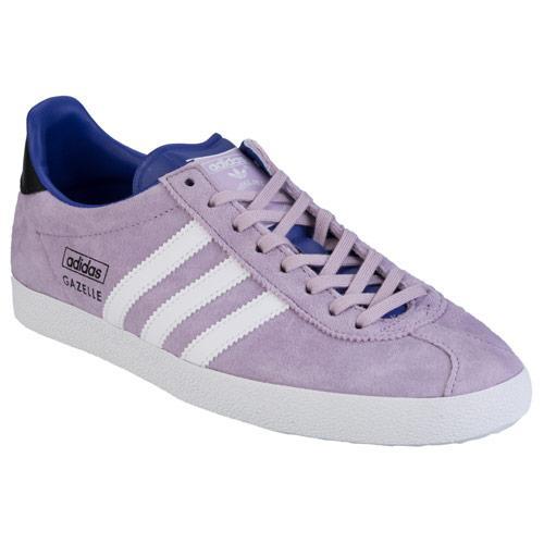 Boty Adidas Originals Womens Gazelle OG Trainers Purple
