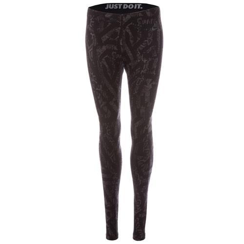 Fitness Nike Womens Leg A See Printed Leggings Black