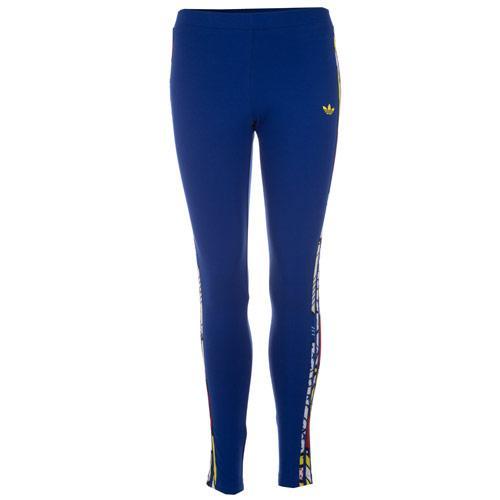 Legíny Adidas Originals Womens Rita Ora Super Logo Leggings Blue
