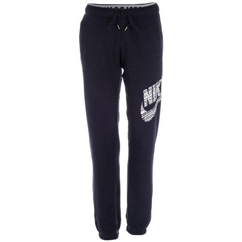 Fitness Nike Womens Rally Logo Pants Black, Velikost: 8 (XS)