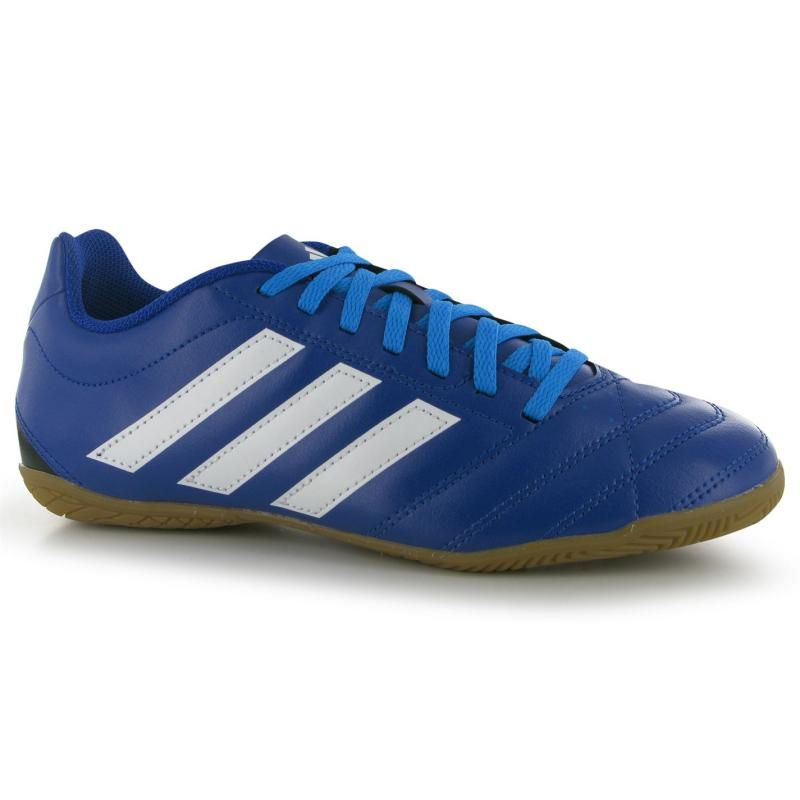 adidas Goletto Indoor Football Trainers Mens Bold Blue