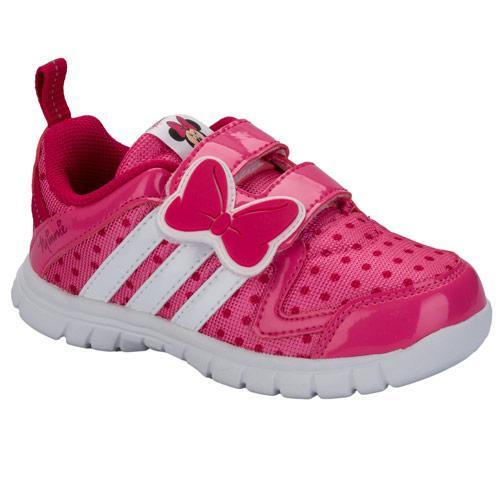 Adidas Infant Girls Disney Fluid Trainers Pink