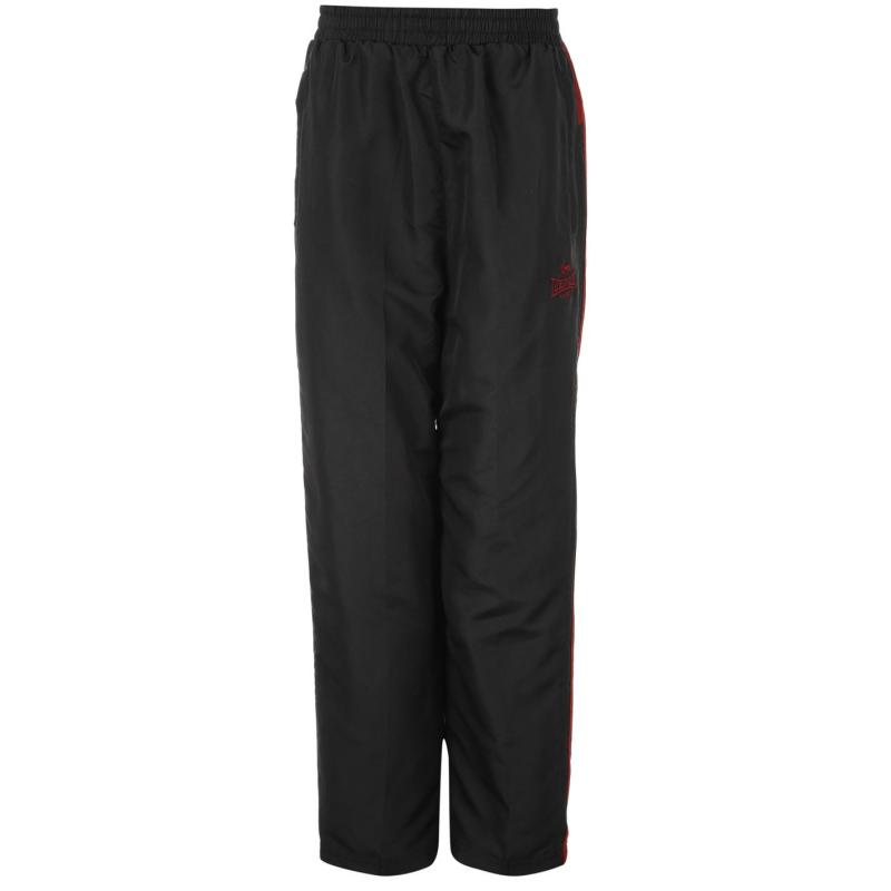 Tepláky Lonsdale 2S Woven Pants Junior Dk Char/Red
