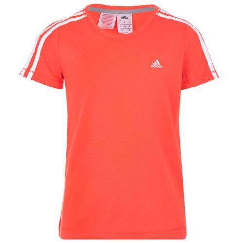 Adidas Infant Girls Essential T-Shirt Coral