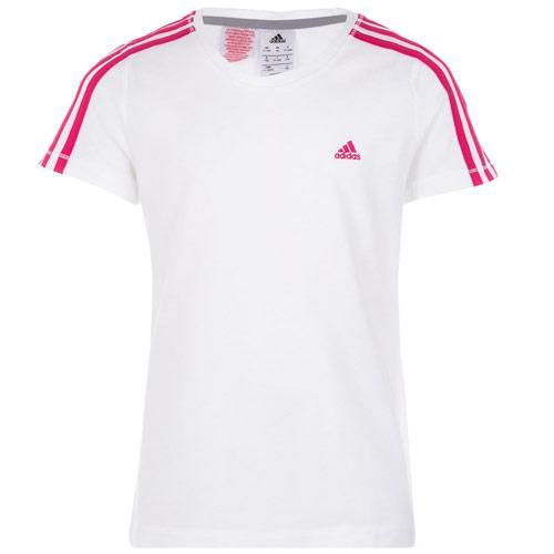 Adidas Infant Girls Essential T-Shirt White