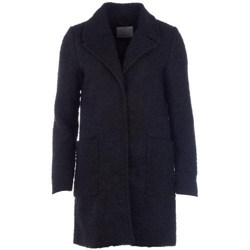 Bunda Vero Moda Womens Trudy Boyfriend Coat Black