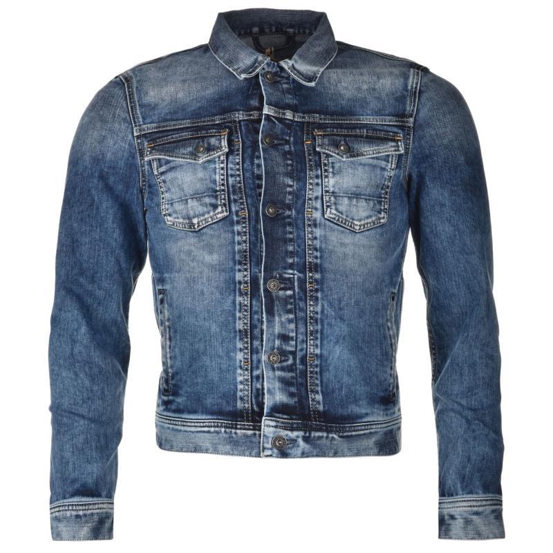 Bunda Pepe Jeans Rooster Jacket Mens denim, Velikost: S