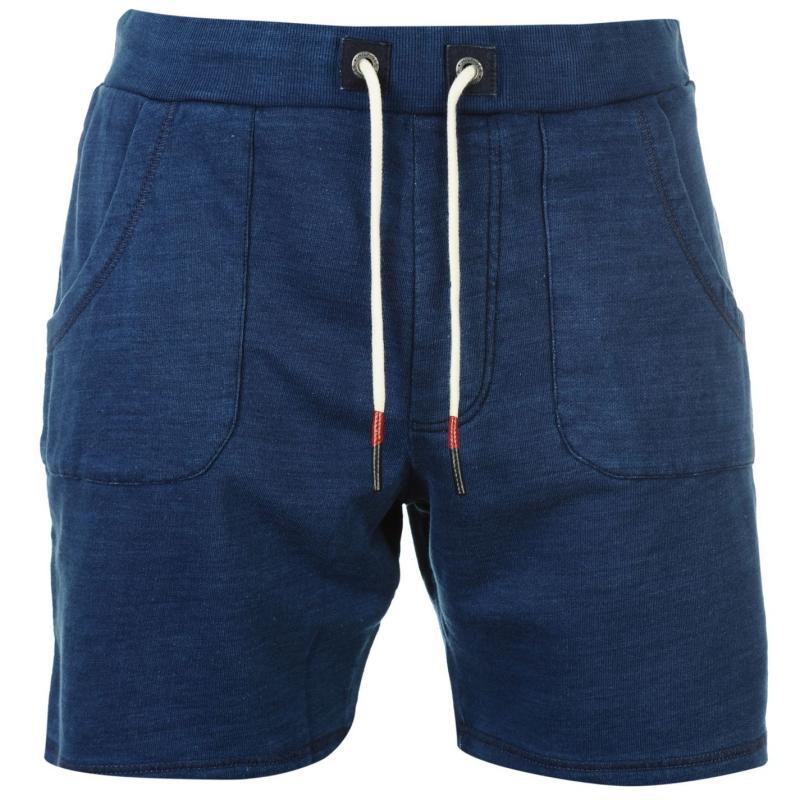 Kraťasy Tommy Hilfiger Ray Knit Shorts medium indigo