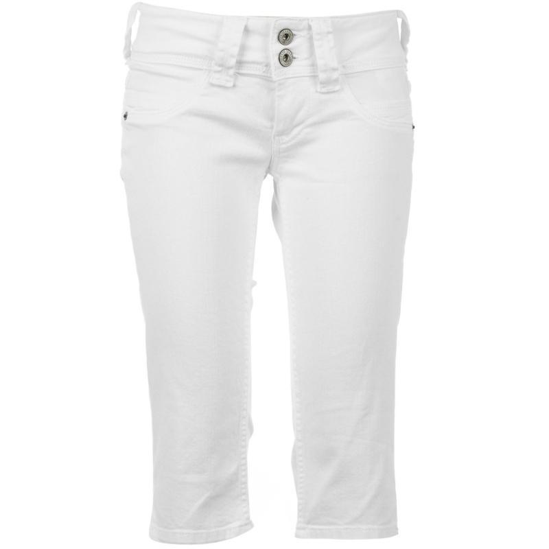 Pepe Jeans Venus Bermuda Jeans Ladies Blue