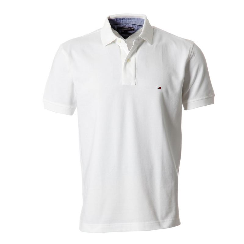 Tommy Hilfiger Tommy New Polo Shirt Classic White, Velikost: L