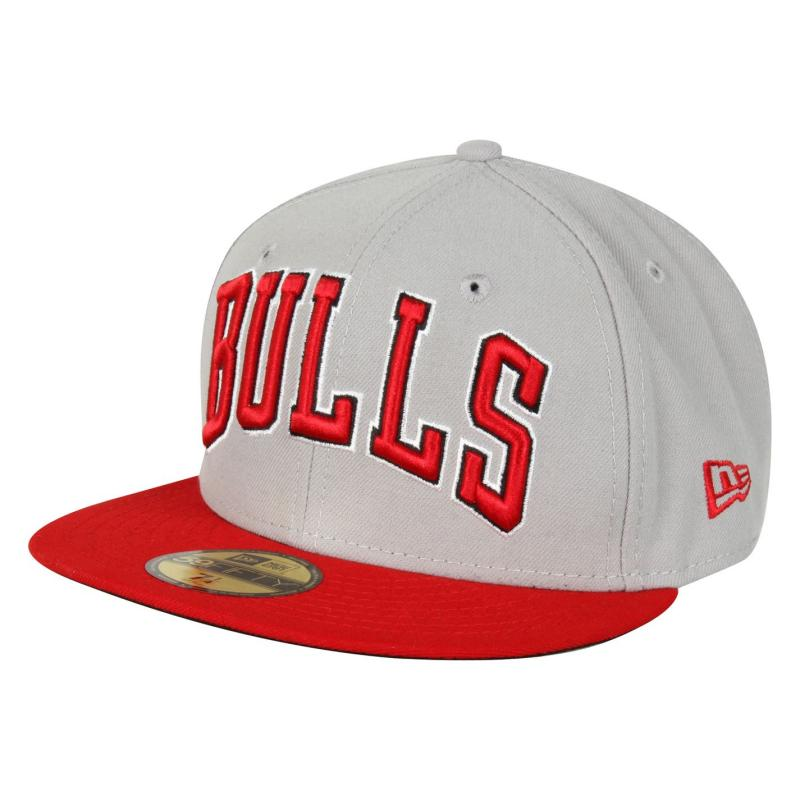 New Era Wordmark Cap Chicago Bulls