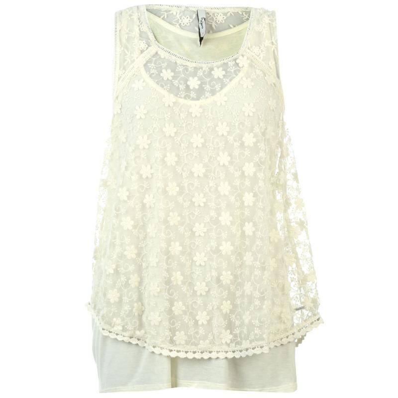Pepe Jeans Valley Top White