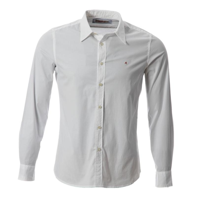 Košile Replay ls Shirt Snr52 001 White