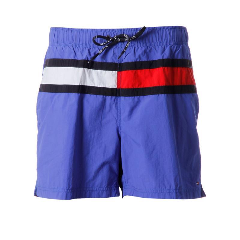 Plavky Tommy Hilfiger Flag Trunk Snr52 Blue