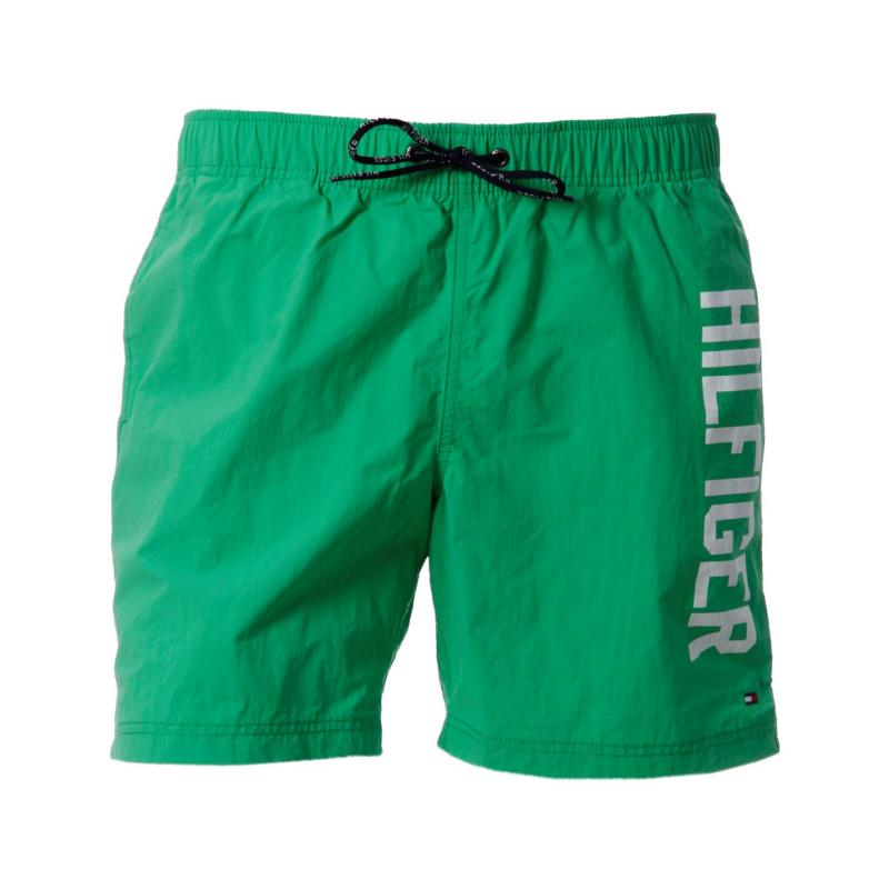 Plavky Tommy Hilfiger Logo Shorts Snr52 Green