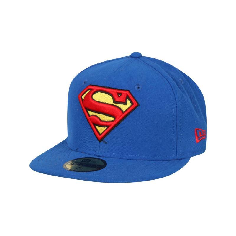 New Era Superman Mens Cap Blue