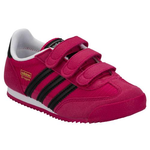 Adidas Originals Children Girls Dragon Trainers Pink